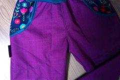 softshell jarní, top parametry 30/15, fialový