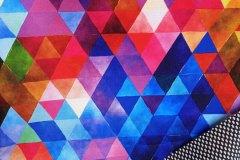 softshell jarní, top parametry 30/15, duhové trojúhelníky