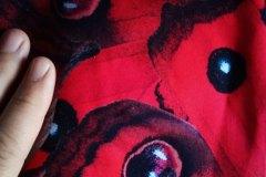 bavl. úplet červení motýli